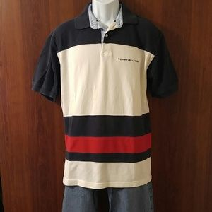 Tommy Hilfiger color block polo size large